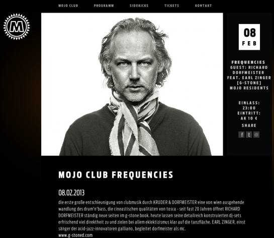 MOJO club dorfmeister